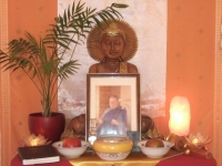 Dharmazuflucht, Germany - memorial altar for Rev. Master Jiyu