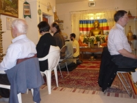 Leicester group - evening meditation
