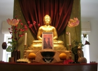 Dogen festival altar, Reading Priory