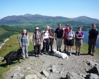 Monks & laity of the Green Mountains Walking Group