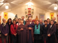 Eugene Priory congregation after Buddha's Enlightenment Festival