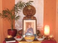 Dharmazuflucht, Germany - memorial altar for Rev. Master Jiyu