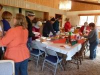 Sangha meal - Pine Mountain