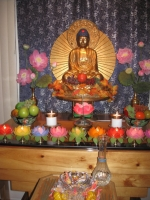 Pine Mountain thanksgiving altar