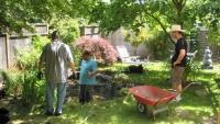 Garden work at Portland