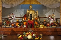 Shasta Abbey - Thanksgiving altar